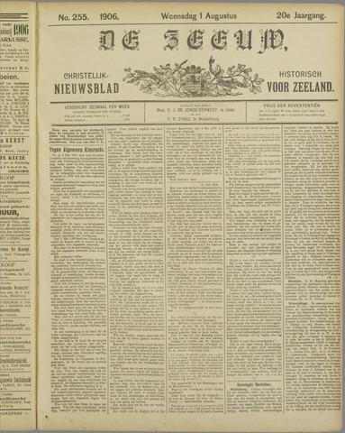 De Zeeuw. Christelijk-historisch nieuwsblad voor Zeeland 1906-08-01