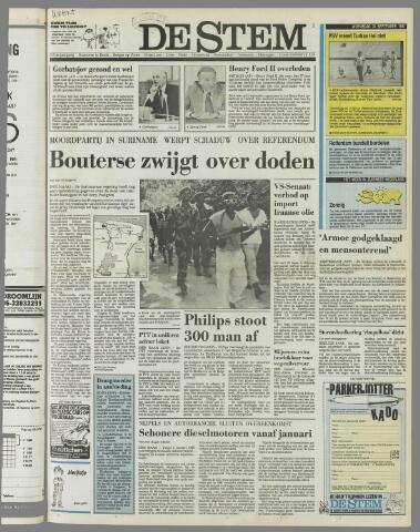 de Stem 1987-09-30