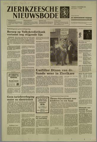 Zierikzeesche Nieuwsbode 1985-10-25
