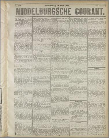 Middelburgsche Courant 1921-05-18