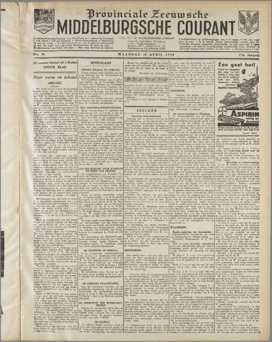 Middelburgsche Courant 1930-04-14