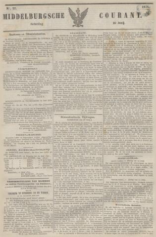 Middelburgsche Courant 1851-06-28