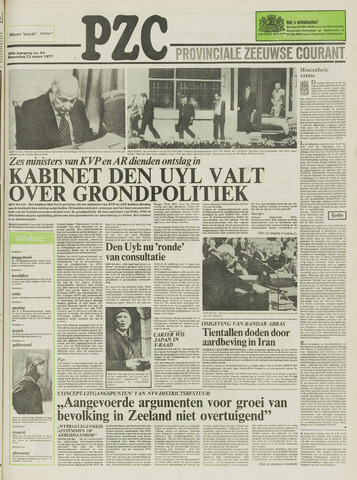 Provinciale Zeeuwse Courant 1977-03-23