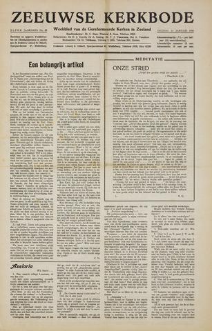 Zeeuwsche kerkbode, weekblad gewijd aan de belangen der gereformeerde kerken/ Zeeuwsch kerkblad 1956-01-13
