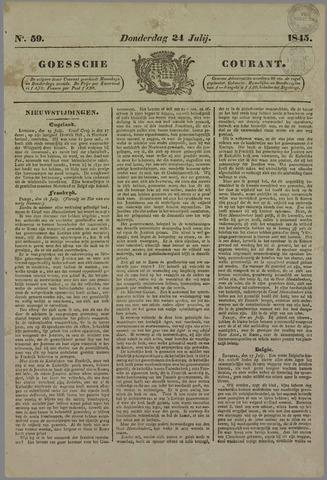 Goessche Courant 1845-07-24