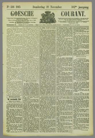 Goessche Courant 1915-11-18