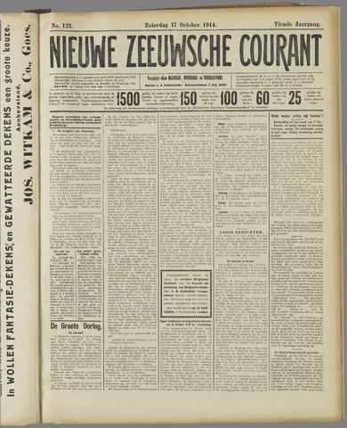 Nieuwe Zeeuwsche Courant 1914-10-17