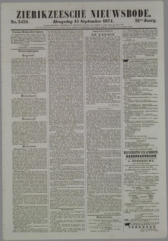 Zierikzeesche Nieuwsbode 1874-09-15