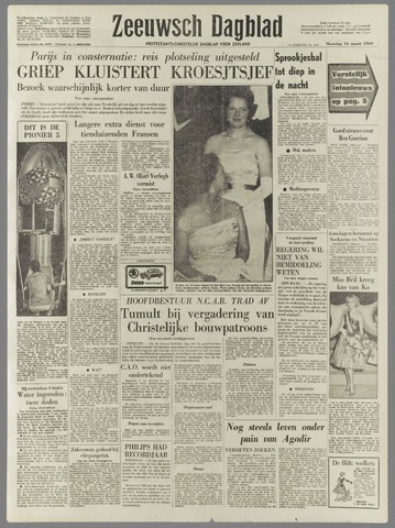 Zeeuwsch Dagblad 1960-03-14