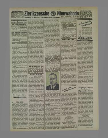 Zierikzeesche Nieuwsbode 1933-05-17