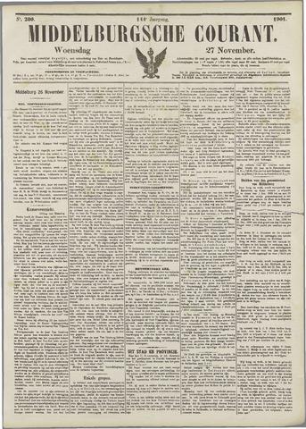 Middelburgsche Courant 1901-11-27
