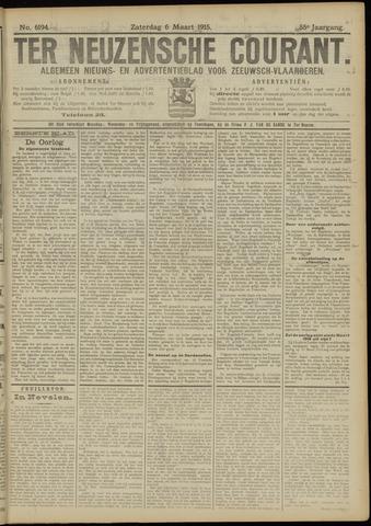 Ter Neuzensche Courant. Algemeen Nieuws- en Advertentieblad voor Zeeuwsch-Vlaanderen / Neuzensche Courant ... (idem) / (Algemeen) nieuws en advertentieblad voor Zeeuwsch-Vlaanderen 1915-03-06