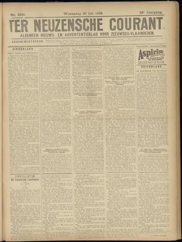 Ter Neuzensche Courant. Algemeen Nieuws- en Advertentieblad voor Zeeuwsch-Vlaanderen / Neuzensche Courant ... (idem) / (Algemeen) nieuws en advertentieblad voor Zeeuwsch-Vlaanderen 1928-07-25