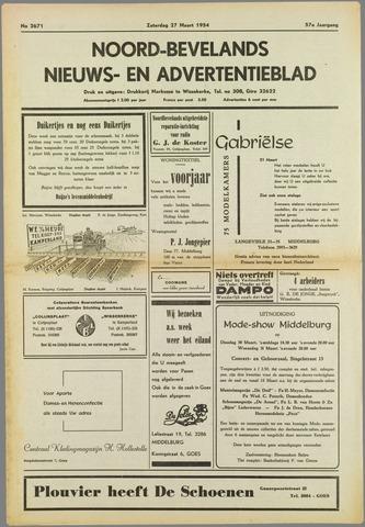 Noord-Bevelands Nieuws- en advertentieblad 1954-03-27