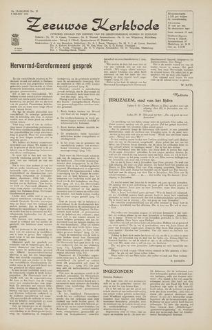 Zeeuwsche kerkbode, weekblad gewijd aan de belangen der gereformeerde kerken/ Zeeuwsch kerkblad 1965-03-05