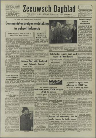 Zeeuwsch Dagblad 1957-03-21