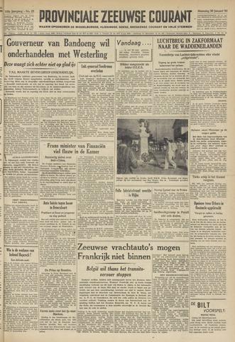 Provinciale Zeeuwse Courant 1950-01-30