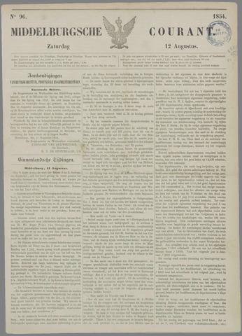 Middelburgsche Courant 1854-08-12