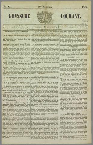 Goessche Courant 1856-12-18