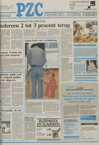 Provinciale Zeeuwse Courant 1993-07-19