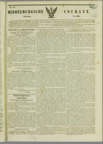 Middelburgsche Courant 1847-07-31