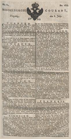 Middelburgsche Courant 1777-07-08