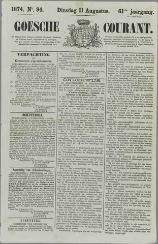 Goessche Courant 1874-08-11
