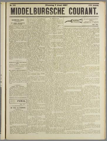 Middelburgsche Courant 1927-06-07