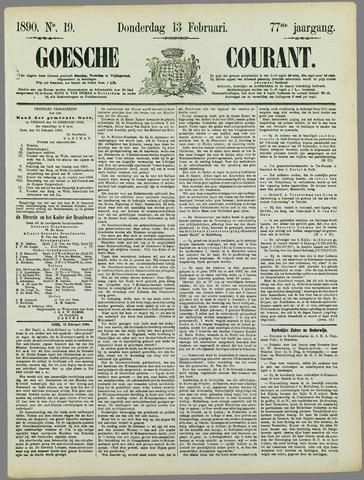 Goessche Courant 1890-02-13