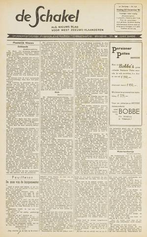 De Schakel 1961-12-22