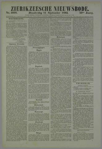 Zierikzeesche Nieuwsbode 1882-09-14