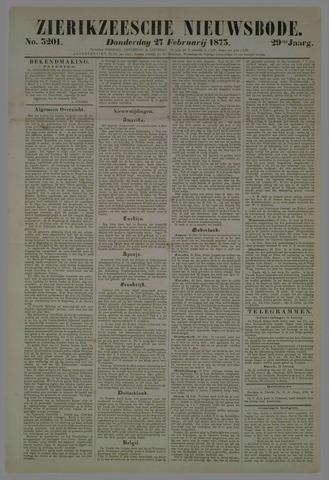 Zierikzeesche Nieuwsbode 1873-02-27