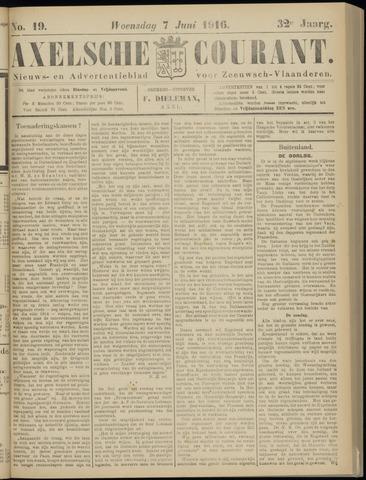 Axelsche Courant 1916-06-07