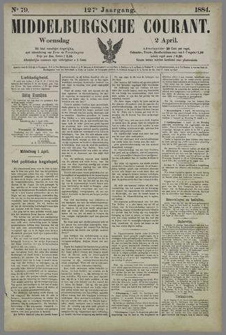 Middelburgsche Courant 1884-04-02