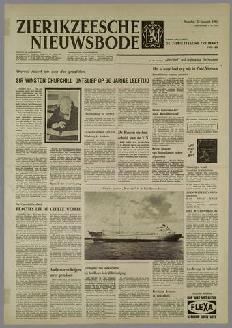 Zierikzeesche Nieuwsbode 1965-01-25