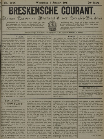 Breskensche Courant 1911-01-04