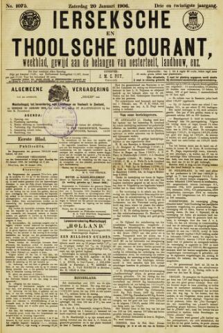 Ierseksche en Thoolsche Courant 1906-01-20