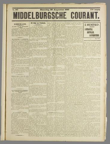 Middelburgsche Courant 1927-08-29