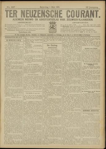 Ter Neuzensche Courant. Algemeen Nieuws- en Advertentieblad voor Zeeuwsch-Vlaanderen / Neuzensche Courant ... (idem) / (Algemeen) nieuws en advertentieblad voor Zeeuwsch-Vlaanderen 1915-05-01