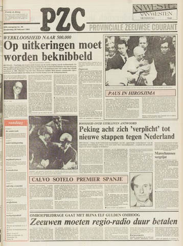 Provinciale Zeeuwse Courant 1981-02-26