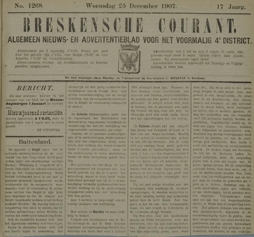 Breskensche Courant 1907-12-25