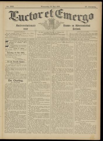 Luctor et Emergo. Antirevolutionair nieuws- en advertentieblad voor Zeeland / Zeeuwsch-Vlaanderen. Orgaan ter verspreiding van de christelijke beginselen in Zeeuwsch-Vlaanderen 1915-05-12