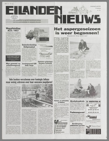 Eilanden-nieuws. Christelijk streekblad op gereformeerde grondslag 2004-04-29