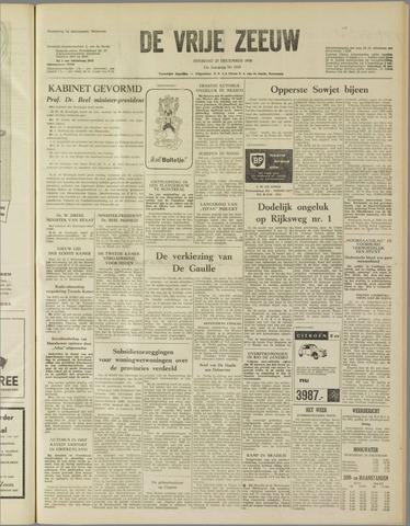 de Vrije Zeeuw 1958-12-23