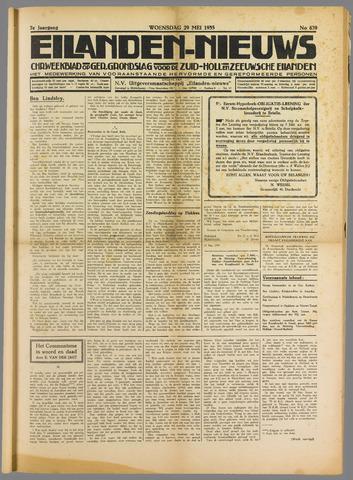 Eilanden-nieuws. Christelijk streekblad op gereformeerde grondslag 1935-05-29