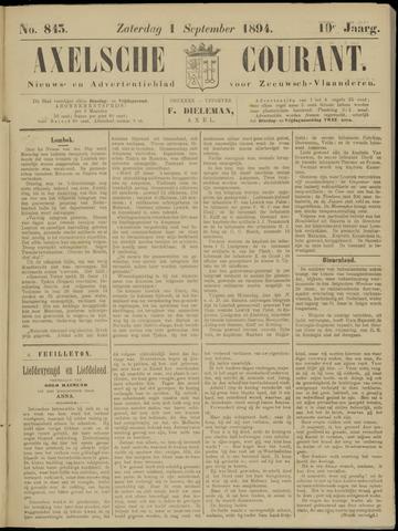 Axelsche Courant 1894-09-01