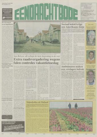 Eendrachtbode (1945-heden)/Mededeelingenblad voor het eiland Tholen (1944/45) 2004-04-15