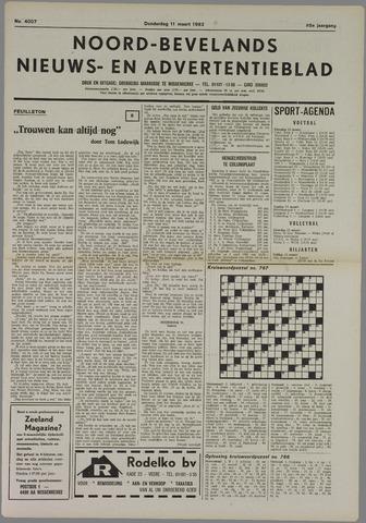 Noord-Bevelands Nieuws- en advertentieblad 1982-03-11