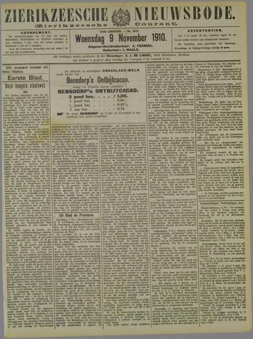 Zierikzeesche Nieuwsbode 1910-11-09
