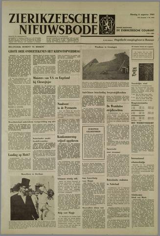 Zierikzeesche Nieuwsbode 1963-08-06